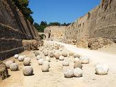 Stone balls — Stock Photo