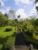 Corsia di parco di Taman ayun temple — Foto Stock