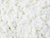 Cottage cheese close-up — Stock Photo