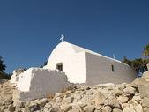 Traditional Greek chapel. — Stock Photo
