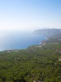 Rhodes island coastline. — Stock Photo