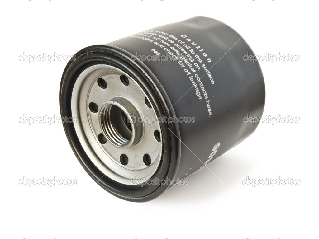 Car engine oil filter — Stock Photo #1173359