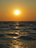 Aegean sea sunset — Stock Photo
