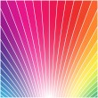 Royalty-Free Stock Vektorgrafik: Rainbow styled background.