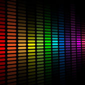 Abstract color spectrum equalizer — Cтоковый вектор