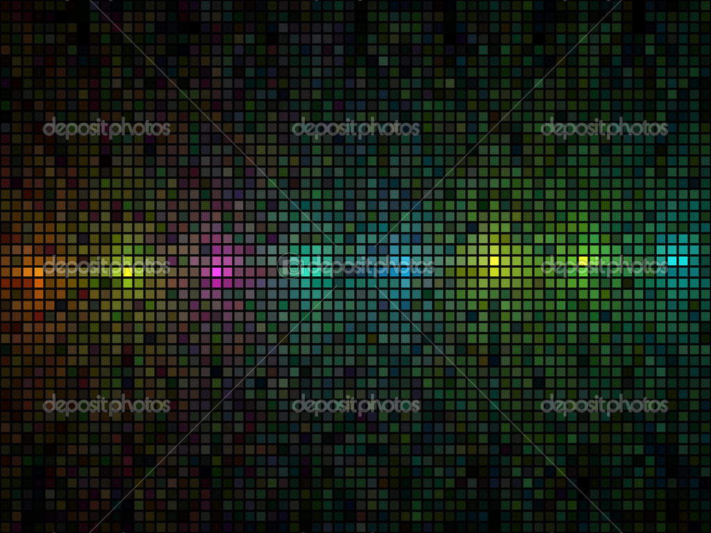 Abstract multicolor lights disco tile vector background.  Image vectorielle #1267352