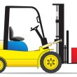 Royalty-Free Stock Vector Image: Forklift loader