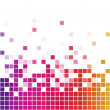 Rainbow square mosaic — Stock Vector #1577614