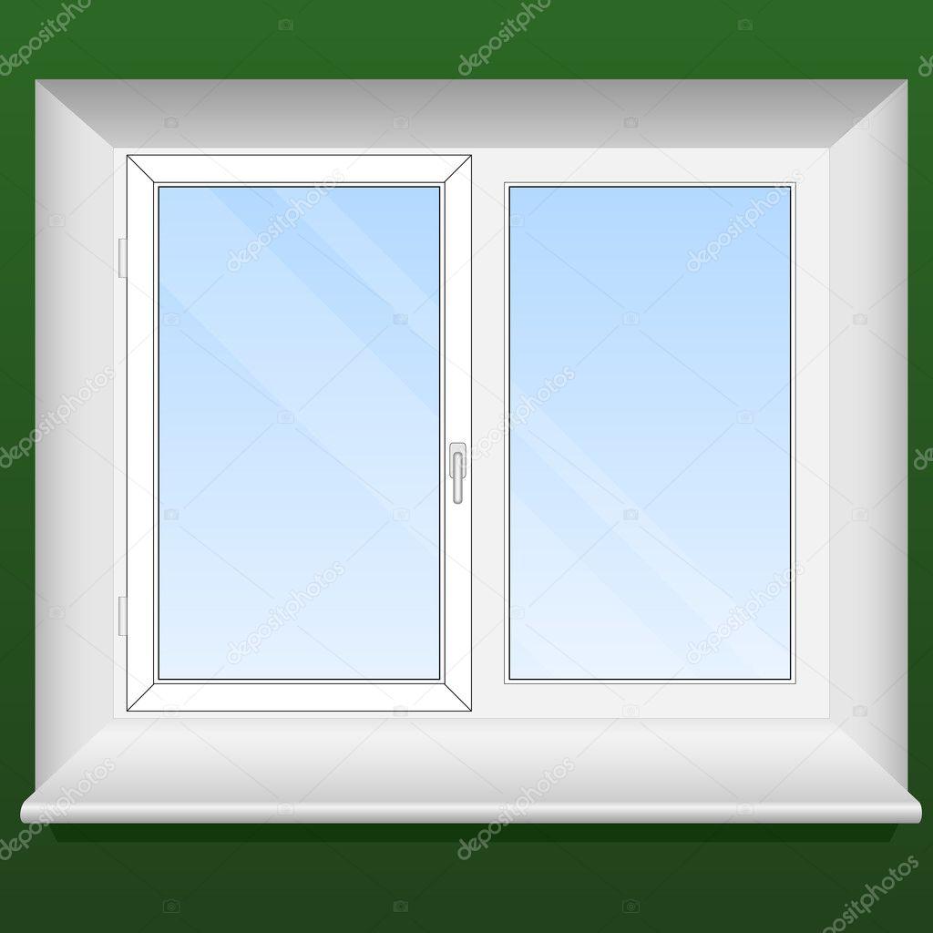 фото окно вектор