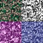 ������, ������: Seamless camouflage pattern