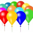 Royalty-Free Stock Vector Image: Colorful balloons