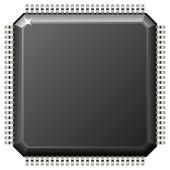 Microchip — Stok Vektör