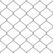 Stock Vector: Seamless chainlink fence
