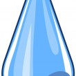 Vector water drop — Stock Vector