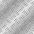 Seamless diamond metal plate — Vector de stock