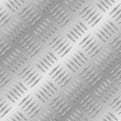 Vecteur: Seamless diamond metal plate