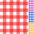 Seamless traditional tablecloth pattern — Imagen vectorial