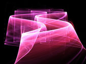 Abstract pink way background — Stock Photo