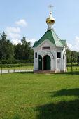 Rural chapel on Yesenin — Stock Photo