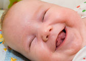 The laughing child — Stock Photo