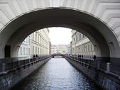 Arch in St. Petersburg — Stock fotografie
