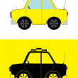 Royalty-Free Stock Vectorafbeeldingen: Taxi