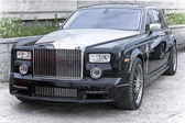 Car rich Rolls Royce Phantom — Stock Photo