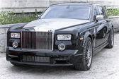 Car rich Rolls Royce Phantom — Stock Photo