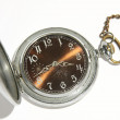 Antique mechanical pocket watch — Stock Photo