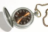 Antique mechanical pocket watch — Stock Photo