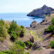 Panorama Crimea sea landscape — Stock Photo