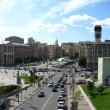 Independence Square in Kiev — Stock Photo