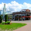 Panorama Building in city Kiev — Stock Photo