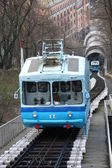 Railway funicular in Kiev — Stock Photo