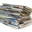 Newspapers — Stock Photo #2245193