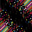Royalty-Free Stock Vector Image: Color dot background