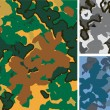 Vector camouflage.Background — Image vectorielle