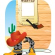 Royalty-Free Stock Vector Image: Cowboy West life.