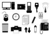 Technics for office — Stock Vector