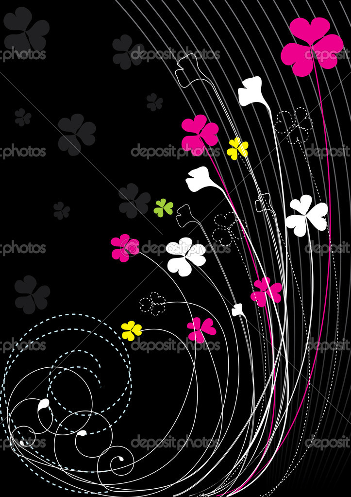 Vector floral elements for design — Stock Vector #1179267