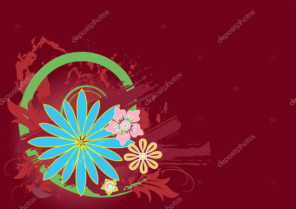 Vector floral elements for design — Stock Vector #1179272