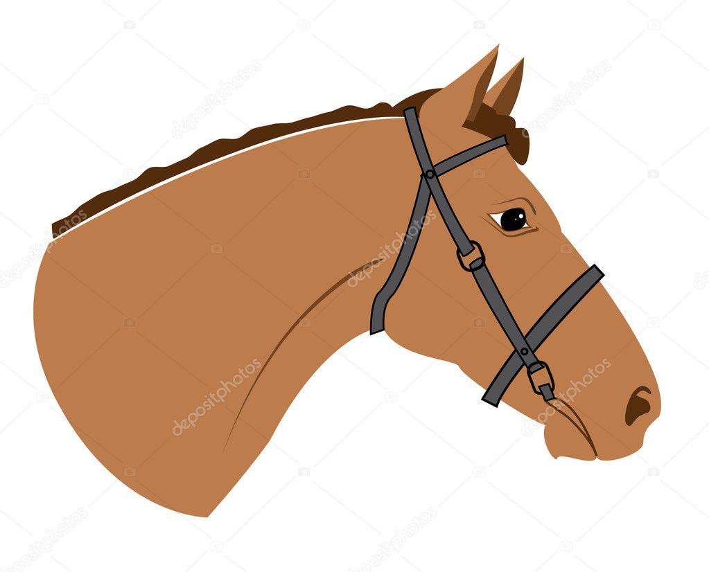 Как нарисовать лошадь на палке