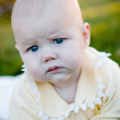 Baby serious — Stock Photo