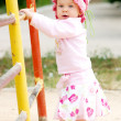 Child near bars — Stock Photo #1222388