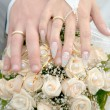 Rings and hands - Stock Photo