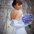Royalty-Free Stock Photo: Posing bride