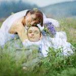 Wedding couple — Stock Photo #1243277
