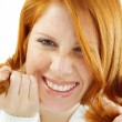 Smiling redhead — Stock Photo #1244150
