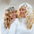 Loving sisters and friends — Stock Photo