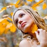 novia otoño — Foto de Stock